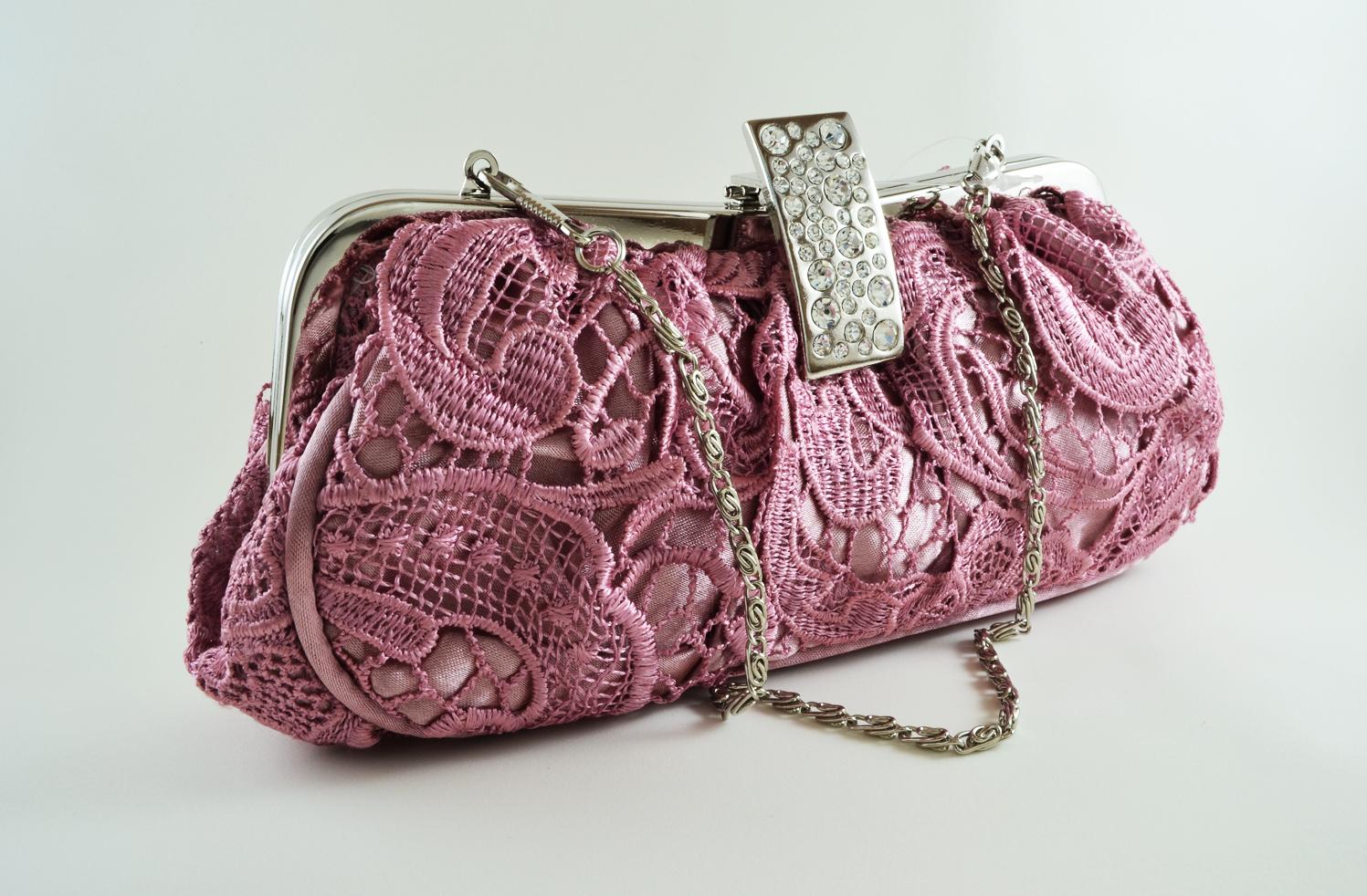 Bolsa De Festa Rose : Estamos prontas para as formaturas bolsa festa rosa spazio