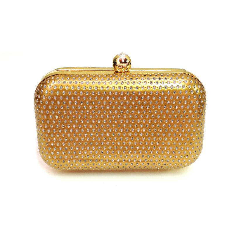 c7f05b09e4 bolsa clutch dourada | Spazio