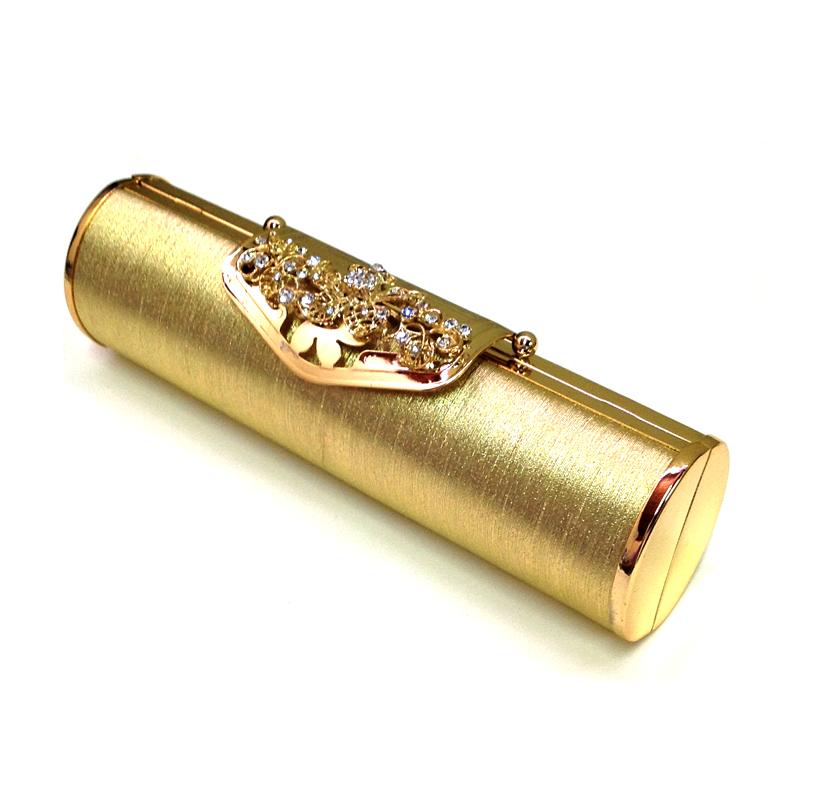Bolsa Dourada Look : Bolsa clutch dourada spazio